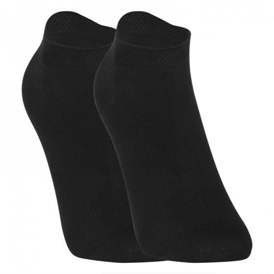 10PACK ponožky Styx nízké bambusové černé (10HBN960)