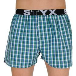 Pánské trenky Styx sportovní guma vícebarevné (B113)