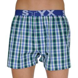 Pánské trenky Styx sportovní guma vícebarevné (B103)