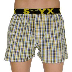 Pánské trenky Styx sportovní guma vícebarevné (B107)