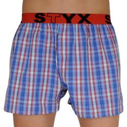 Pánské trenky Styx sportovní guma vícebarevné (B110)