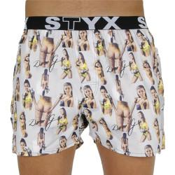 Pánské trenky Styx art sportovní guma - Deni G - limitovaná edice (B1159)