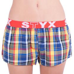 Dámské trenky Styx sportovní guma vícebarevné (T614)