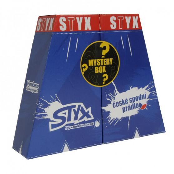 MYSTERY BOX - 5PACK dámské trenky Styx klasická guma vícebarevné