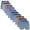 10PACK pánské trenky Styx sportovní guma vícebarevné (B101234567802))